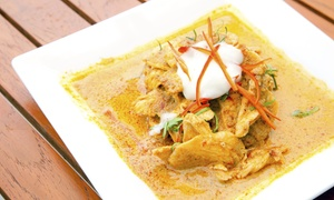 Banh Thai: Thai Food for Two or Four People at Dinner, for Lunch, or for Carry-Out at Banh Thai (Up to 42% Off)