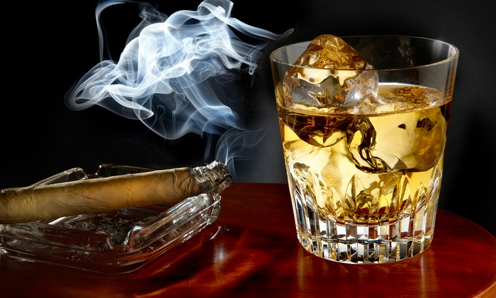 John Rolfe Tobacco Company - Downtown: $17 for $30 Worth of MIiddle Eastern Food and Drinks for Two at John Rolfe Tobacco Company