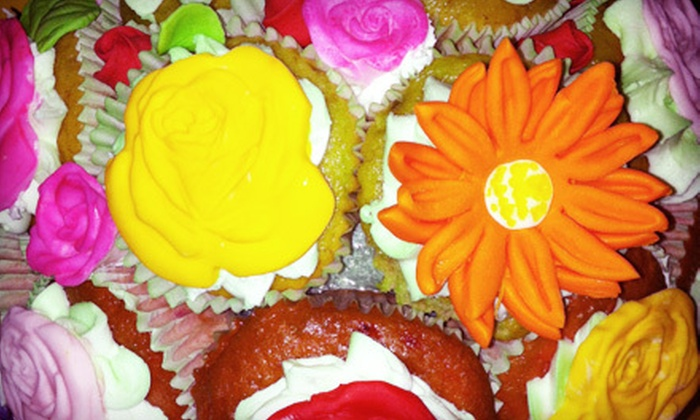 Wah-Wah's Cakes - Manhattan: Cupcake Bouquet with 12 or 24 Cupcakes at Wah-Wah's Cakes (Up to 76% Off)