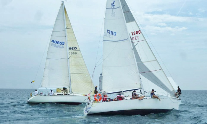 Offshore Adventures Chicago - Monroe Harbor: Two-Hour BYOB Sailing Cruise for Two or Six from Offshore Adventures Chicago (Up to 70% Off)