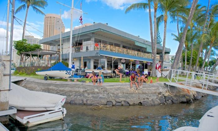 Hawaii Yacht Club - Waikiki: $99.99 for Membership Initiation Discount at Hawaii Yacht Club ($660 Value)
