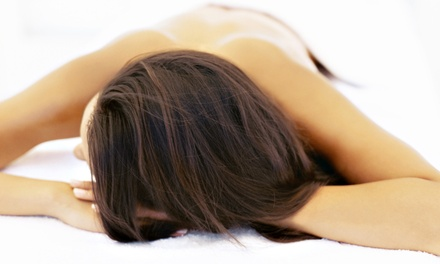 One or Six 30-Minute Infrared Massage-Bed Sessions at A Handful Salon (Up to 56% Off)