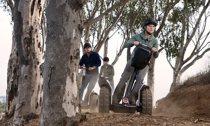SegCity Segway Tours - Burroughs Park: Trail Blazin Off-Road Adventure Segway Tour for One, Two, or Four from SegCity Segway Tours (Up to 50% Off)