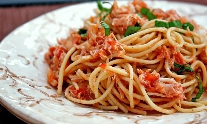 Pasta Avanti - Downtown: $11 for $20 Worth of Italian Dinner for Two at Pasta Avanti