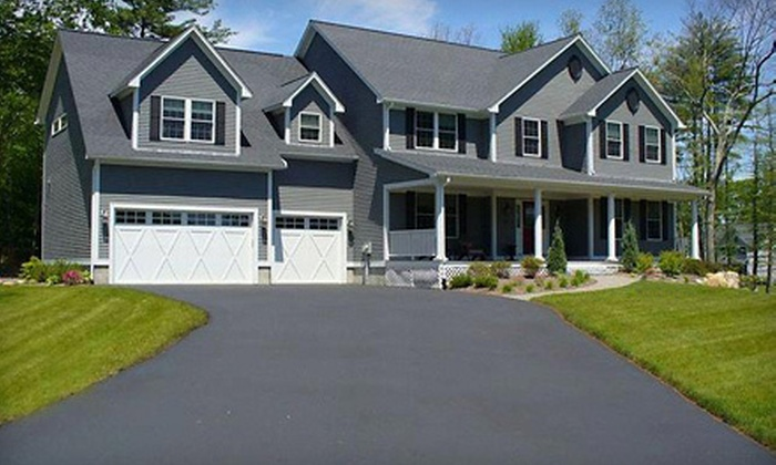 Suburban Seal - Minneapolis / St Paul: Seal Coating for Two- or Three-Car Driveway from Suburban Seal (Up to 51% Off)