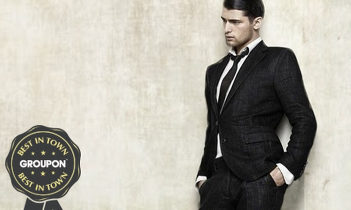 The Suit Co - Multiple Locations: Two-Piece Suit, Two Shirts and Two Ties for €129 at The Suit Co (Up to 68% Off)