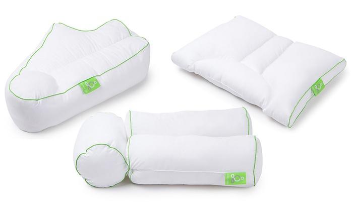 Sleep Yoga Specialty Pillows Groupon Goods