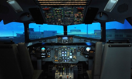 Jet Flight Simulator: 30 $99 or 60 Minutes $149 at Jet Flight Simulator Canberra Up to $299 Value