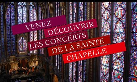 Concerts de classique à La Sainte-Chapelle