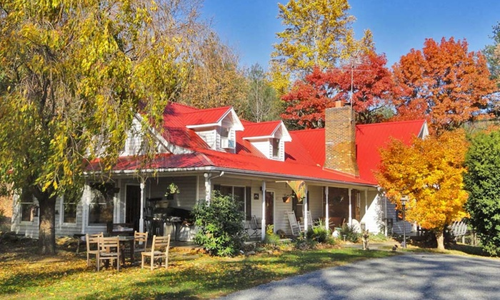 Blue Ridge Mountains - Cana, VA: 2-Night Stay for Two with Wine Tasting at Blue Ridge Manor Bed & Breakfast in Cana, VA