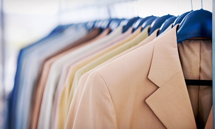 Cleaning by Frederick's - Multiple Locations: Dry Cleaning and Alterations at Cleaning at Frederick's (Up to 54% Off). Two Options Available.