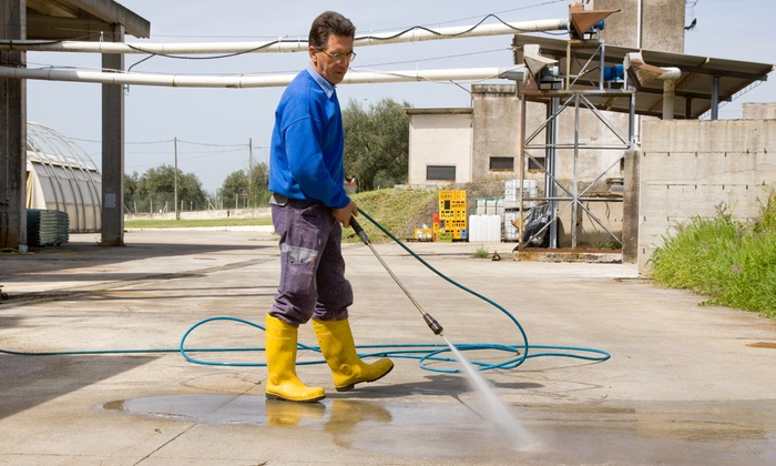 Clean Our Glass - North Jersey: $155 for $345 Worth of Home Pressure Washing — Clean Our Glass