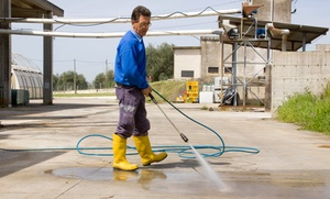 Clean Our Glass: $155 for $345 Worth of Home Pressure Washing — Clean Our Glass