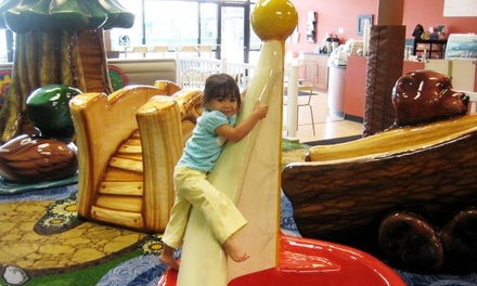 $6 for a 2014 Three-Visit Indoor Playground Pass at Munchkin Playland ($15 Value)