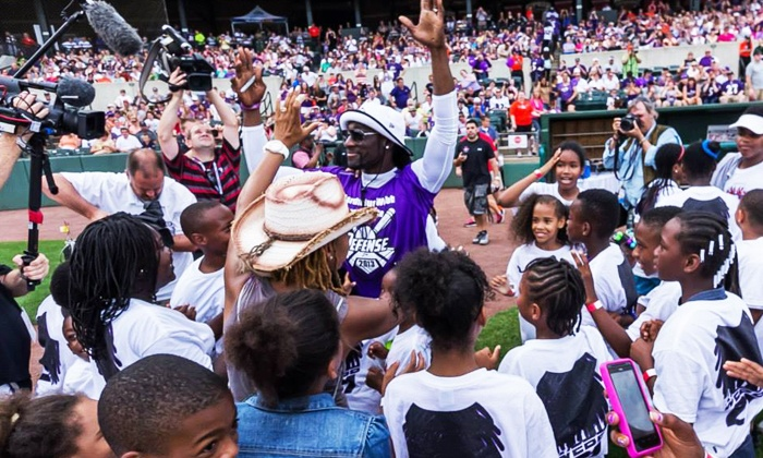 5th Annual Lardarius Webb Charity Softball Game - M&T Bank Stadium: $12 for One Ticket to the 5th Annual Lardarius Webb Charity Softball Game on Sunday, June 1, at 3:30 p.m. ($17.35 Value)
