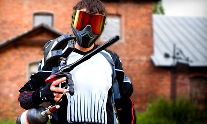 Futureball Paintball Inc. - Downtown South Lyon: Paintball Package with 100 Paintballs Per Person for One, Two, or Four at Futureball Paintball Inc. (Up to 53% Off)