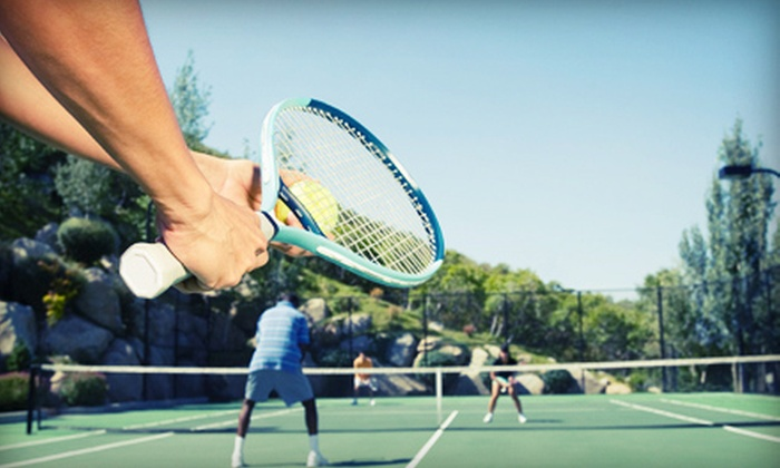 Centercourt Athletic Club of Marlboro - Marlboro: Tennis Open Play or Private Lessons at Centercourt Athletic Club of Marlboro (Up to 66% Off). Three Options.