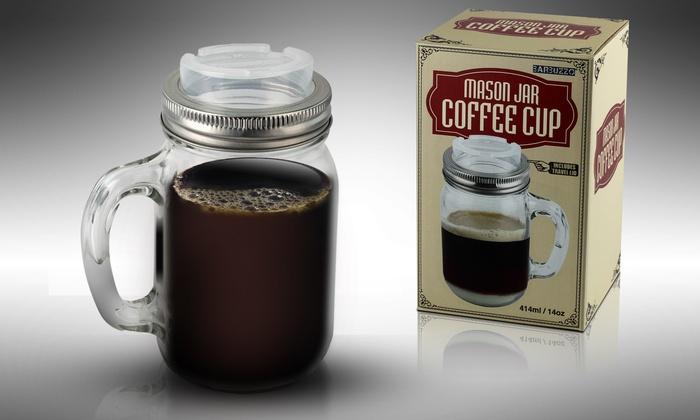 Mason Jar Coffee Mug