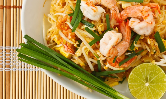 Baan Thai - San Francisco: $1 Buys You a Coupon for 1 Glass Of Wine With Purchase Of $15 Or More On Food at Baan Thai