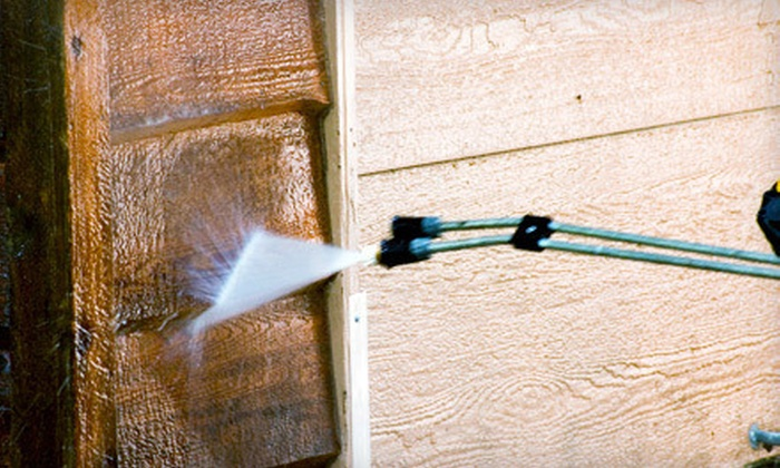 Green Sweep, LLC - Winchester: Two or Four Hours of Power Washing from Green Sweep, LLC (Up to 54% Off)