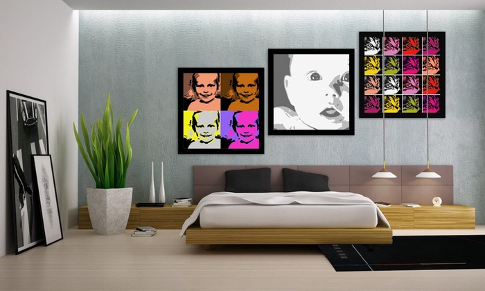 MeZoo: Custom Canvas Prints from MeZoo (Up to 85% Off). Three Options Available.