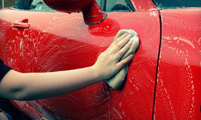 Blue Rain Express Car Wash - Pelham: Ultimate Express Car Wash or Blue Rain Special Express Car Wash at Blue Rain Express Car Wash in Pelham (Up to 53% Off)
