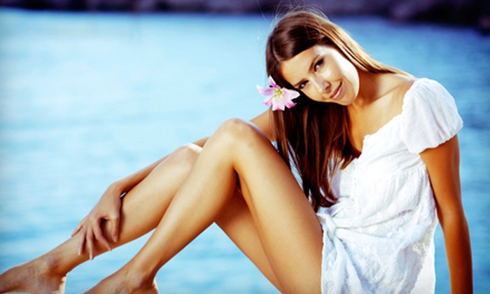 SpaGo - North Chattanooga - Hill City - UTC: One or Three Airbrush Tans at SpaGo (Up to 59% Off)