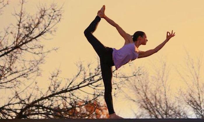 Noorish Yoga - Garneau: Five Yoga Classes or One Month of Unlimited Yoga Classes at Noorish (Up to 65% Off)