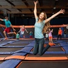Up to 50% Off Indoor Trampoline Jump Passes at Sky Zone