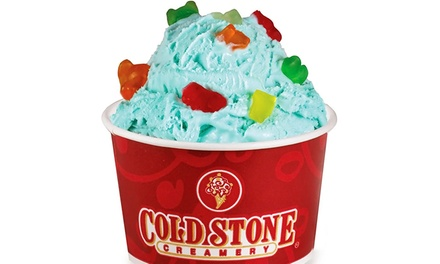 Ice Cream, Frozen Yogurt, and Shakes, or Cakes and Cupcakes at Cold Stone Creamery (50% Off)