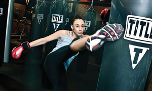 TITLE Boxing Club: $15 for Two Weeks of Unlimited Boxing Classes with Hand Wraps at Title Boxing Club ($55.99 Value)