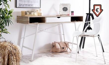 selsey living schreibtisch groupon. Black Bedroom Furniture Sets. Home Design Ideas