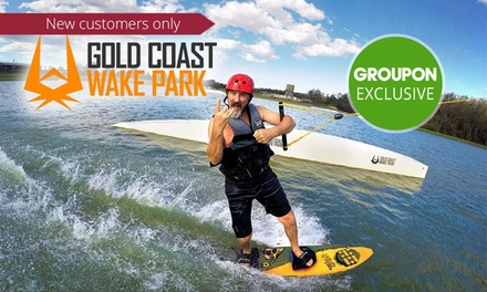 Wakeboarding or Kneeboarding: 1 ($26), 2 ($31) or 4 Hours ($41), or Full Day ($57) at GC Wake Park (Up to $84.95 Value)