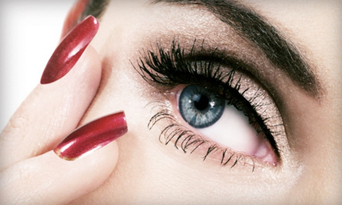Monica Rosental - Fountainbleau: Eyelash Tinting, Lash Perm, or Both, or One, Three, or Five Sets of Lash Extensions from Monica Rosental (Up to 71% Off)