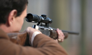 One Hour On Shooting Range With Equipment For Two Or Four At National Armory (up To 55% Off)