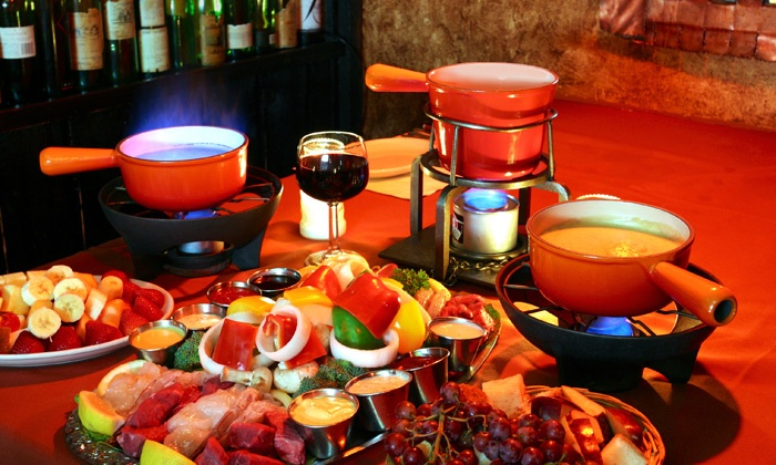 Geja's Cafe - North Side: Fondue and Wine at Geja's Cafe (Up to 62% Off)