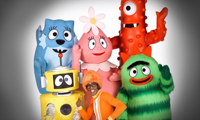 """Yo Gabba Gabba! Live: Get The Sillies Out! - Downtown West: """"Yo Gabba Gabba! Live! Get the Sillies Out!"""" at the Orpheum Theatre on January 16 (Up to 31% Off)"""