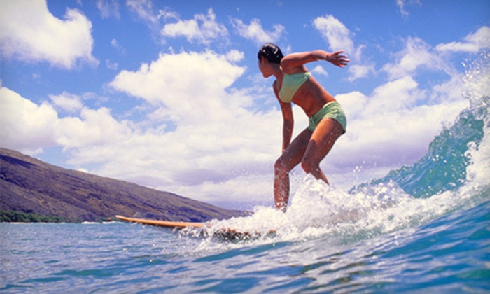 Jacksonville Surf Training - Multiple Locations: Surfing Lesson or Paddleboard Lesson from Jacksonville Surf Training in Jacksonville Beach (Up to Half Off)