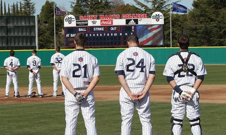 Saint Mary's College Baseball Camps in Moraga, CA | Groupon