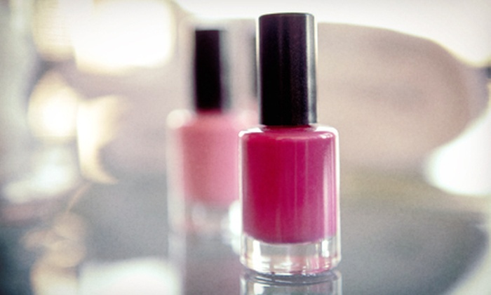 Roanne at Studio Styling - Saint Clair Shores: $30 for Shellac Manicure and Basic Pedicure from Roanne at Studio Styling ($60 Value)