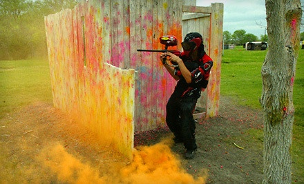 Dallas: Paintball for One, Two, Four, or Six at Official Paintball Games of Texas (Up to 59% Off)