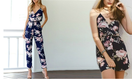 Floral Romper (AED 79), Floral Jumpsuit (AED 89) or Both (AED 159)