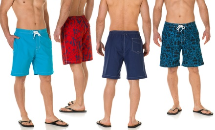 groupon daily deal - Franklin & Fox Men's Board Shorts. Multiple Designs Available.