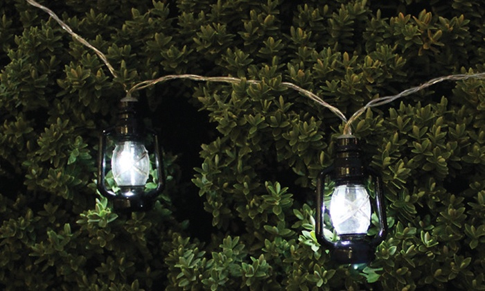 Traditional Solar String Lights Groupon