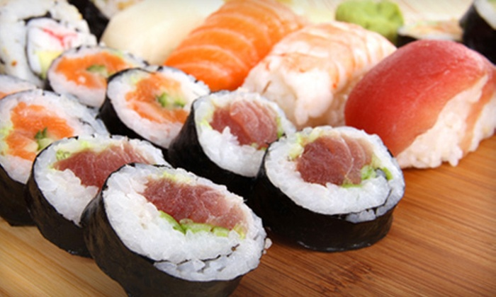 Sushi on the Rocks - Sushi on the Rocks: $20 Worth of Sushi and Asian Cuisine