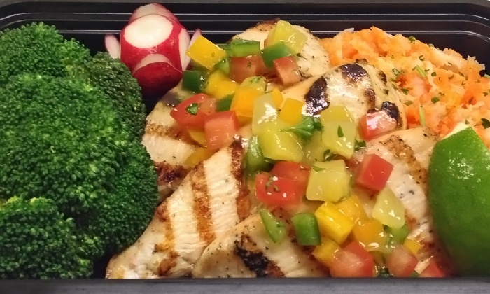 Catered Fit - Orlando: $99 for One Week of Healthy Meal Delivery from Catered Fit ($135 Value)