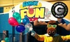 Family Fun Center & Bullwinkle's Restaurant - Multiple Locations: $12 for Rides and Attractions at Family Fun Center & Bullwinkle's Restaurant ($25.99 Value). Two Locations Available.