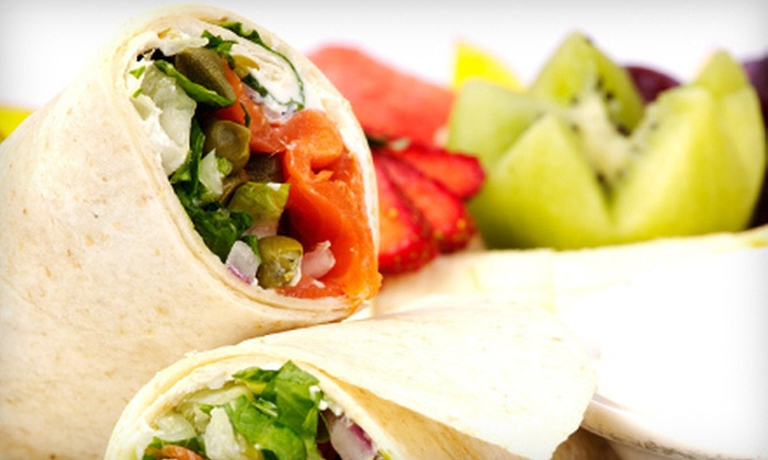 Happiness Healthy Cafe - Maravilla: $7 for $14 Worth of Sandwiches, Indian Cuisine, and Drinks at Happiness Healthy Cafe