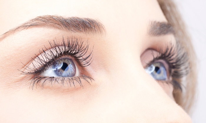 Miss Knockout - Pearl: Knockout Eyelash Perm or Partial Set of Kitten Eyelash Extensions at Miss Knockout (Up to 48% Off)