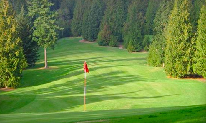 Eighteen Pastures/Tall Timbers Golf Courses - Multiple Locations: Weekday or Weekend Round of Golf for Two or Four at Eighteen Pastures Golf Course or Tall Timber Golf Course